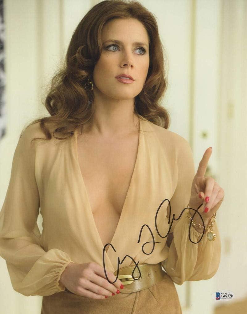 Autogrammfoto Amy Adams