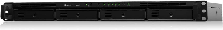 Synology Serie Value RS816 Negro 2 Puertos USB 3.0, 2 Puertos LAN Gigabit, 1 Puerto eSATA Dispositivo de Almacenamiento en Red