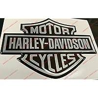 Escudo, logotipo, calcomanía, Harley Davidson, logotipo clásico, adhesivo