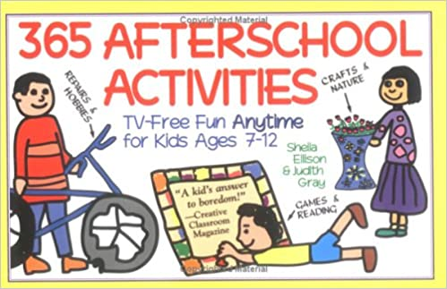Amazon Com 365 Afterschool Activities 9781570710803 Ellison