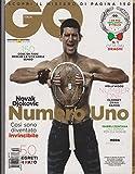GQ ITALIA Magazine Marzo 2012, NOVAK DJOKOVIC Numero Uno, Isabeli Fontana.