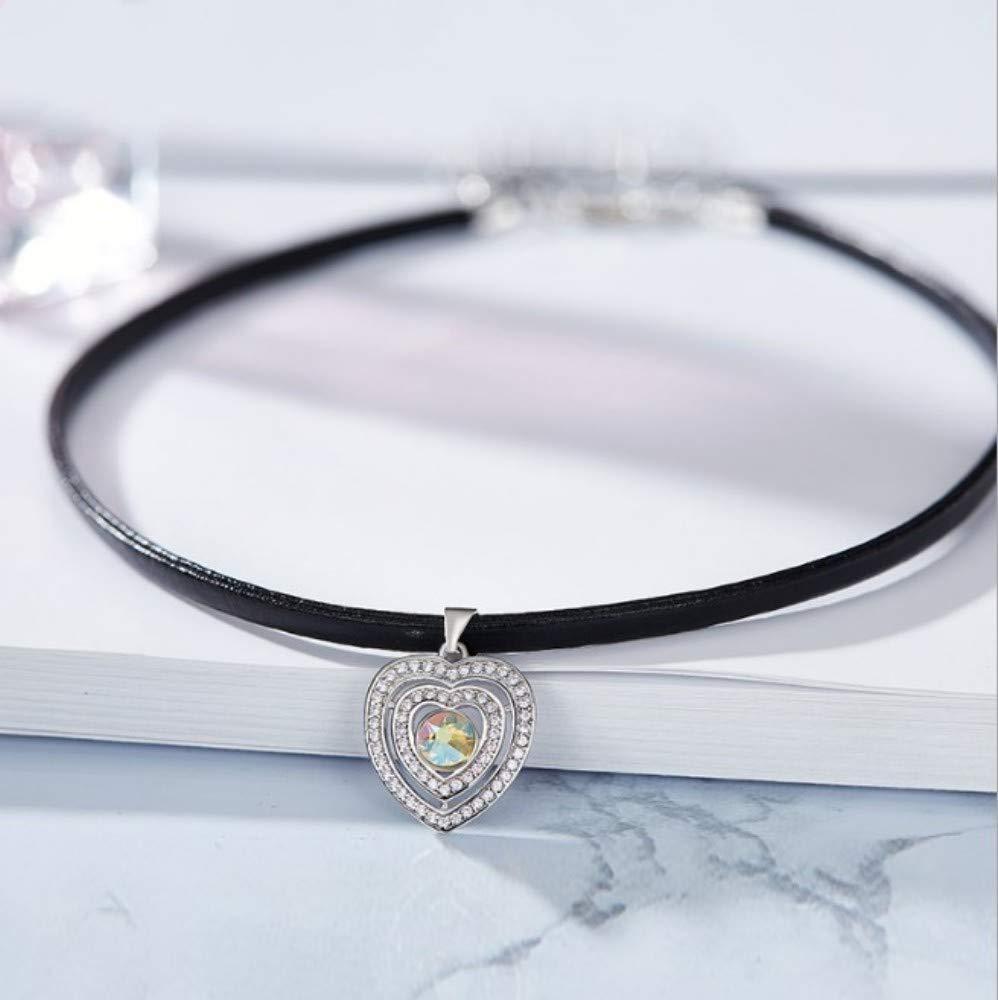 価格は安く QWERST女性ネックレススターリングシルバーハート型ペンダントファッション絶妙なネックレス最高の贈り物スカイブルー B07NPQJ18S, 株式会社ミヤタコーポレーション:7569144d --- a0267596.xsph.ru