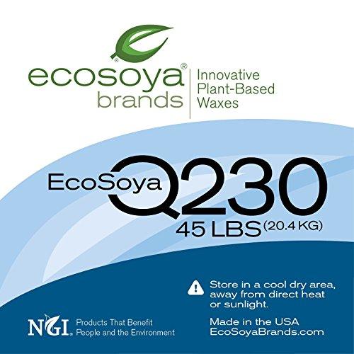 EcoSoya Q230 (CB-PB) Wax - 10 pound bag, priced per bag