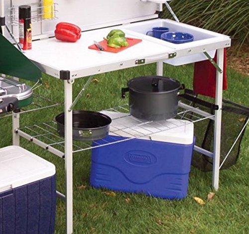 Camp Kitchen Table Ultimate In Outdoor Food Prep Camping