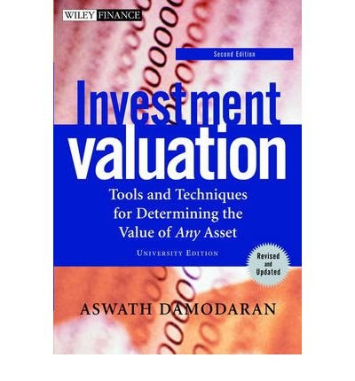 The 9 best investment valuation 2nd edition