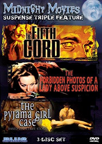 - Midnight Movies Vol 13: Suspense Triple Feature (Fifth Cord/Forbidden Photos/Pyjama Girl Case)