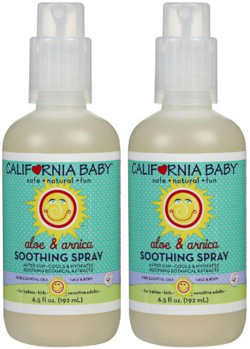 California Baby Soothing Healing Spray product image