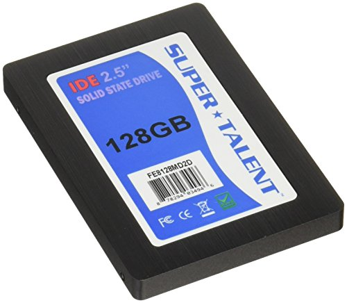 - Super Talent 2.5-Inch 128GB 44-Pin IDE/PATA Internal SSD FE8128MD2D