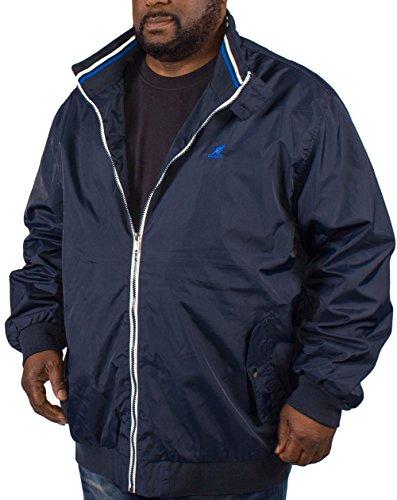Kangol Herren Jacke blau navy XX-Large