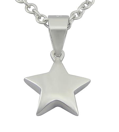 acd8ce4fc8f8 veuer Cadenas de plata de ley 925 rodiada de joyas para mujer collar de  cadena y estrellas colgante de plata auténtico - Estrella regalo para  mujeres VF631  ...