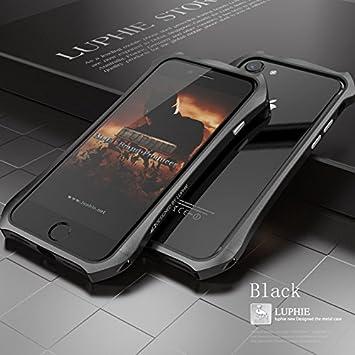 2aaa54525f TOP FILM アルミ バンパー カバー フレーム 超軽量 アルミニウム iPhone 7 plus アルミ ケース バンパー 電波