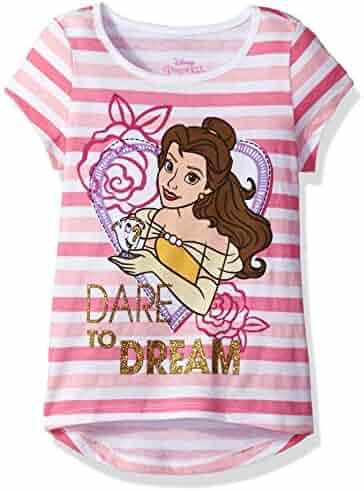 Disney Girls' Belle Beauty and the Beast T-Shirt