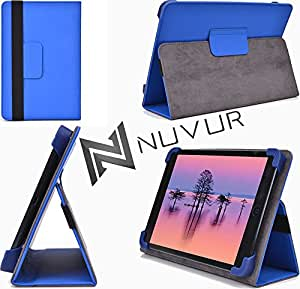 Blue / Adjustable Stand Cover Case Kobo Aura HD NuVur &153; |MU08EXB1|