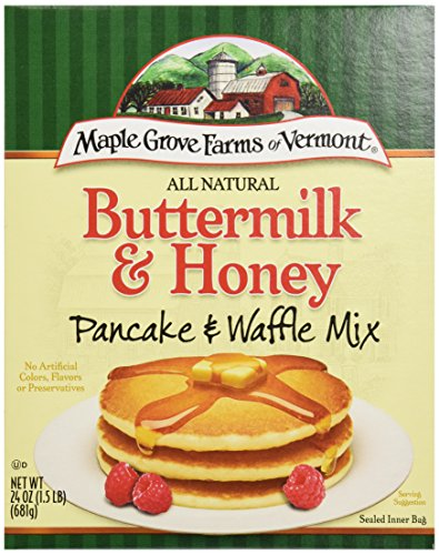 Maple Grove Farms Buttermilk & Honey Pancake And Waffle Mix, 24 oz