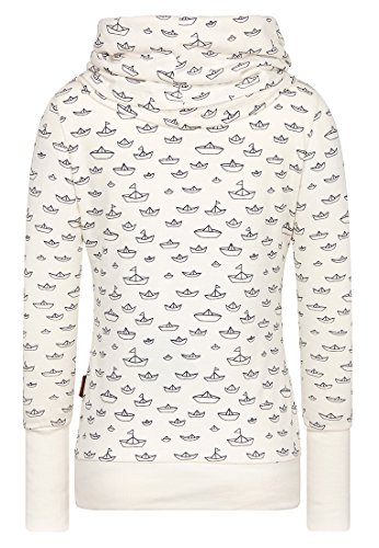 Naketano Wollüstiges Turngerät Female Sweatshirt So Natural Melange, XS