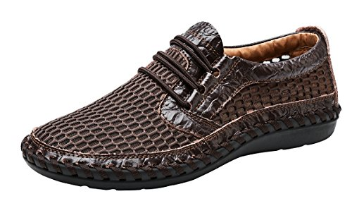 Mohem Mens Poseidon Casual Walking Shoes Outdoor Athletic Sandals 16836Coffee44
