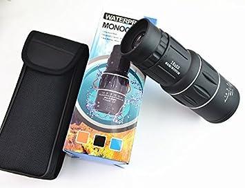 Sportsrain dual fokus monokular teleskop scope hand bedienung für