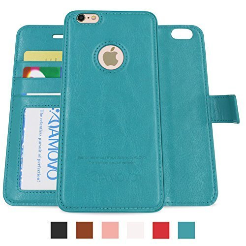 Amovo Leather Detachable Wallet iPhone