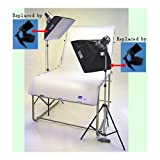 JTL DL-220 Photo Table Kit with Still Life Table, Monolights & Stands