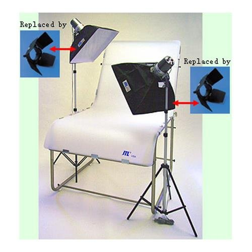 JTL DL-220 Photo Table Kit with Still Life Table, Monolights & Stands by JTL