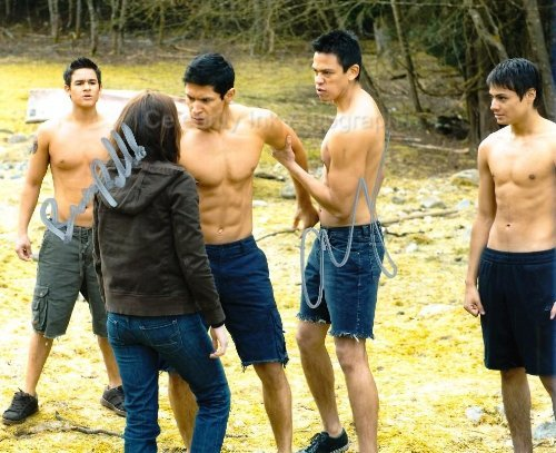 CHASKE SPENCER and BRONSON PELETTIER as Sam Uley and Jared - Twilight Saga from Celebrity Ink