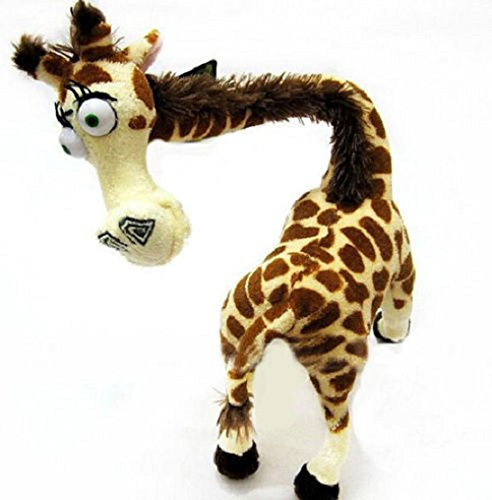[Madagascar 3 Giraffe Melman Mankiewicz 14 Inch Toddler Stuffed Plush Kids Toys] (Toothless Costume Tail)