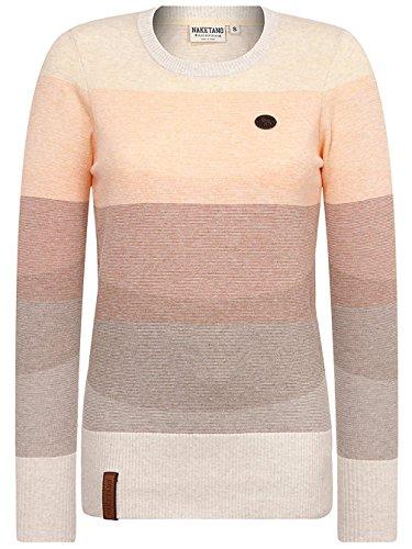 Basic lunghe Maglione Donna Maniche Sunny Striped Melange Naketano BTZnqRn