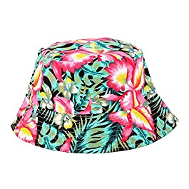 Oyfel Bucket Hats for Men Women Teens Funky Unisex Caps Cotton Sun Hat Summer Outdoor Fishing Camping Cycling Hunting…