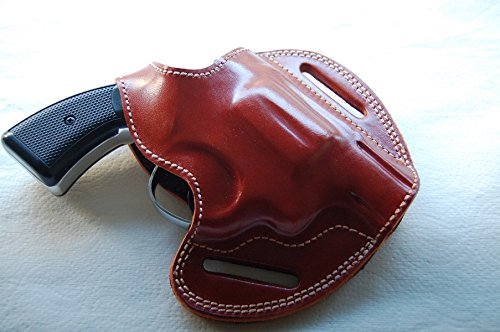 Cal3810 Smith & Wesson Model 10 snub nose revolver 38 Special 2 inch barrel holster (TAN) -