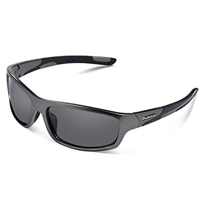 56863df7ed Duduma Polarized Sports Sunglasses for Men Women Baseball Running Cycling  Fishing Driving Golf Softball Hiking Sunglasses Unbreakable Frame Du645