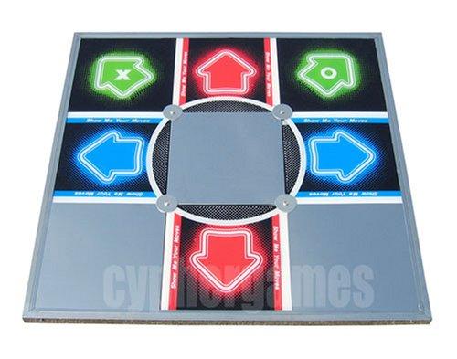 Dance Dance Revolution PS2/XBOX Xtreme Arcade Metal Dance (Xtreme Dance Pad)