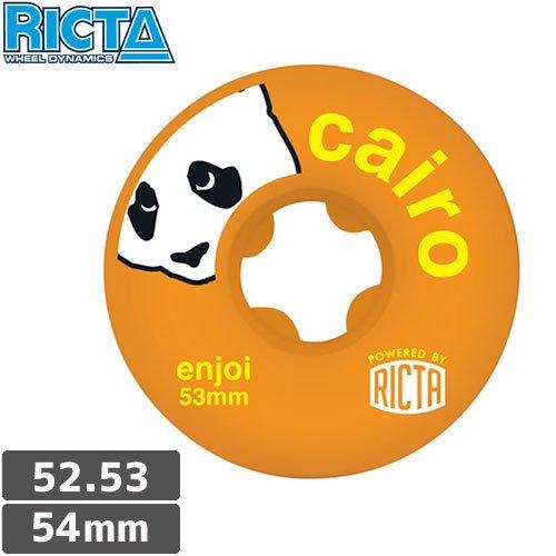 より良い道徳教育上に築きます【リクタ RICTA スケボー ウィール】ENJOI CAIRO SLIX 【52mm】【53mm】【54mm】オレンジ NO27 [並行輸入品]