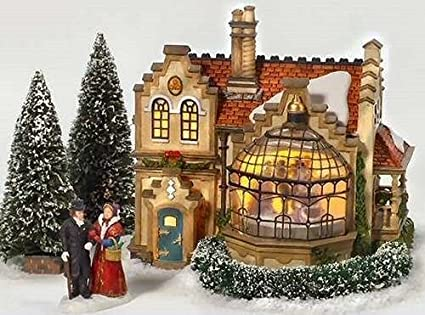 dept 56 dickens village christmas at ashby manor