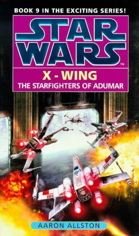 book cover of Starfighters of Adumar