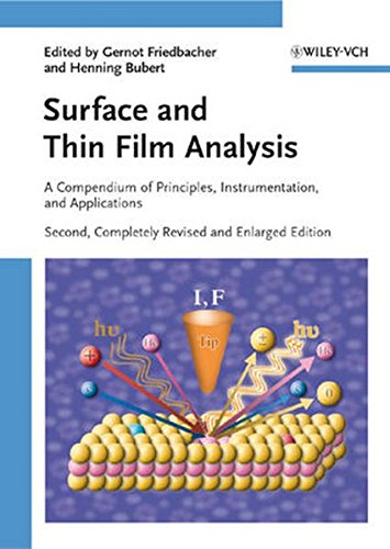 Spectrum Thin - Surface and Thin Film Analysis: A Compendium of Principles, Instrumentation, and Applications
