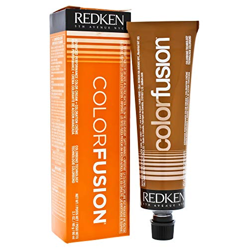 Redken Color Fusion Cream Natural Fashion Hair Color for Unisex, No.6CR Copper/Red, 2.1 Ounce