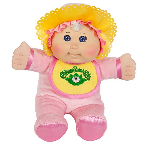 Cabbage Patch Kids 11 Inch Pink Retro Baby Doll (Caucasian Girl, Blonde Hair, Blue - Dolls Patch Cabbage Vintage