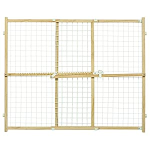 Midwest Wire Mesh Pet Safety Gate, 32 Inches Tall & Expands 29-50 Inches Wide