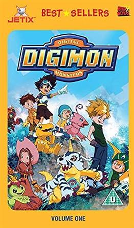 Digimon Volume 1 [Reino Unido] [VHS]: Amazon.es: Digimon: Cine y Series TV