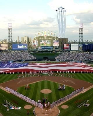 Chicago White Sox U.S. Cellular Field 2003 All-Star Game Stadium Photo (Size: 16