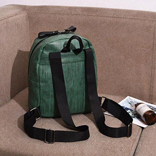 voyage Cabas Main sacs Vert JIANGfu femmes à filles à sac de main à enfants cuir messager de Sac sac à sac bandoulière étudiants Mode Sac Femme en mode dos Femme AqwnwIBXg