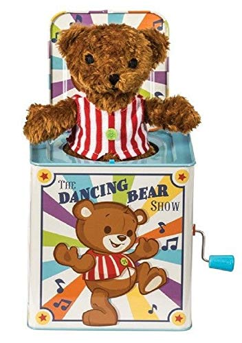 Schylling Dancing Bear Jack in The Box