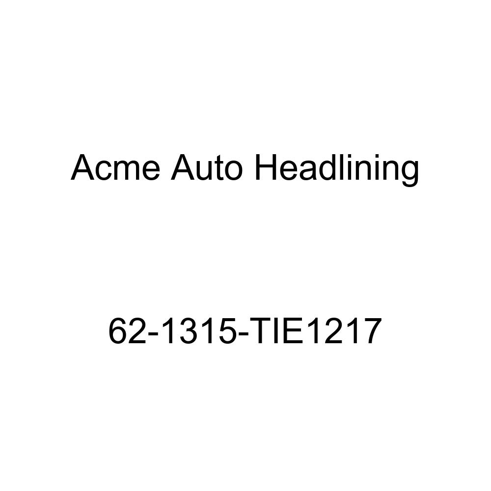 Acme Auto Headlining 62-1315-TIE1217 Ginger Replacement Headliner Cadillac DeVille 4 Dr Hardtop w//Wrap Around Rear Glass 6 Bow