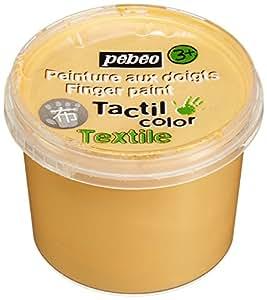 Pebeo 946155 - Pintura dedos, color dorado