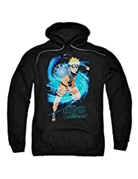 Naruto Shippuden Energyblast Unisex Adult Pull-over Hoodie for Men and Women