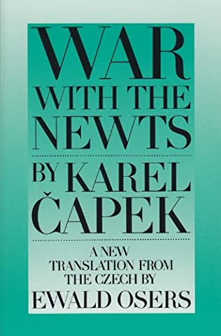 book cover of War with the Newts