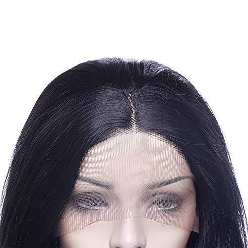 Lace Front Wig Pelucas Rizadas Largas Pelo Sintético Peluca de Encaje Frontal Se Ven Naturales para Mujer Resistente al Calor Disfraz Anime Cosplay ...