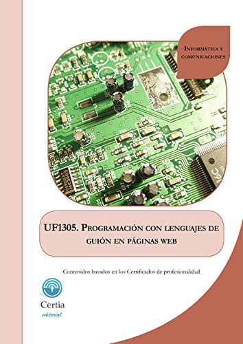 UF1305 Programación con lenguajes de guión en páginas web por Castro Álvarez, Ariel Santiago