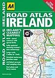 Road Atlas Ireland, AA Publishing Staff, 0749572590