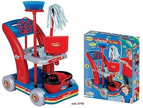 Carrito Limpieza Vileda juguete Giochi Educativi Aprendizaje Juguete Juegos Idea regalo Navidad # AG17: Amazon.es: Hogar
